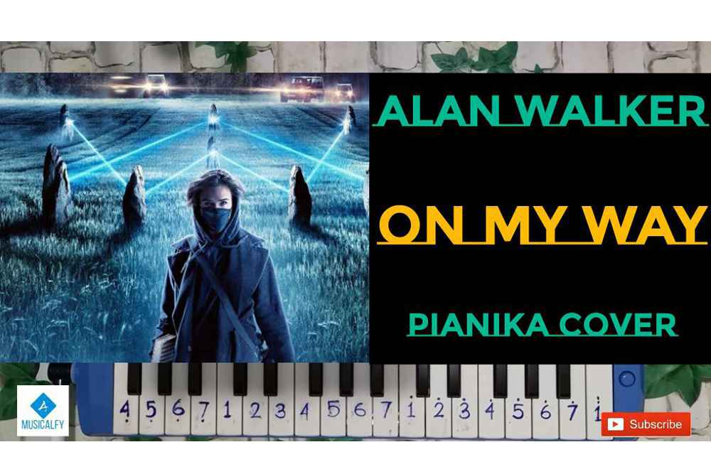 Not Pianika Alan Walker – On My Way PUBG