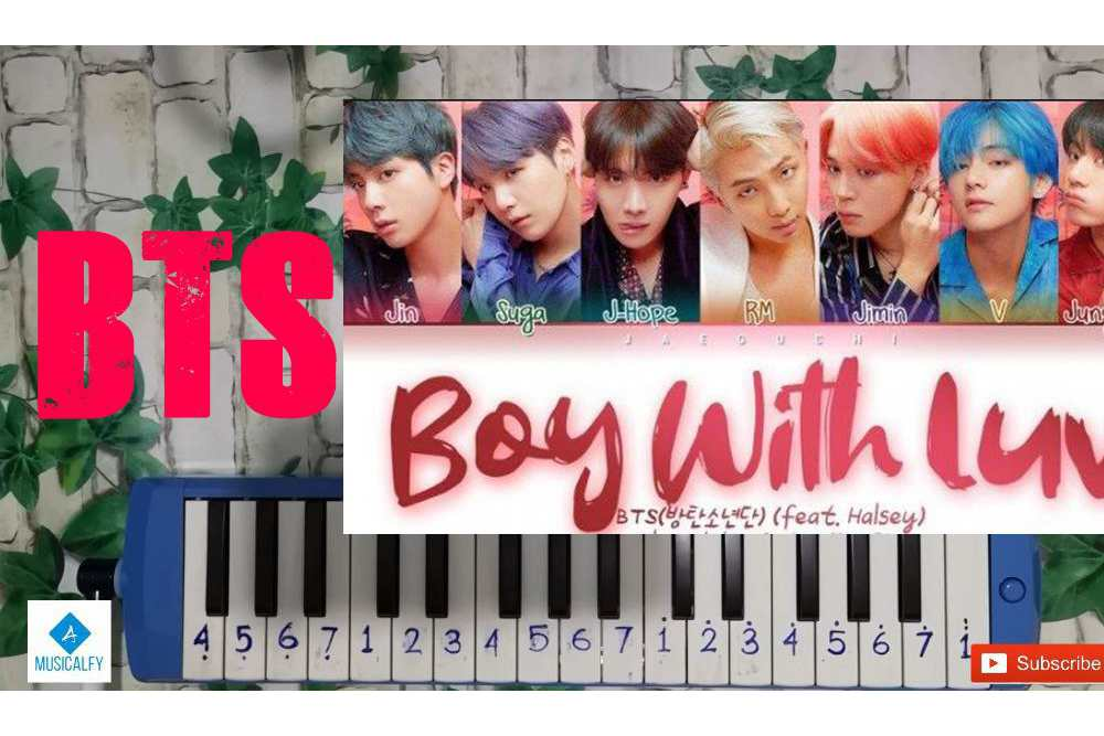 Not Pianika BTS – Boy With Love Feat Halsey
